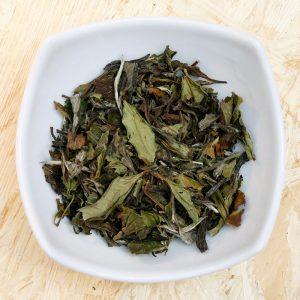 Weißer Tee Pai Mu Tan Bio lose in Schale