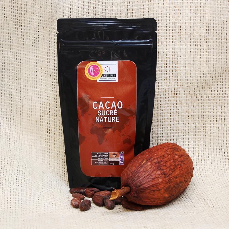 Quai Sud Cacao Sudré Nature Zipbeutel