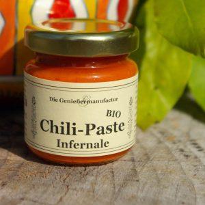 Chili Paste Infernale Bio im Glas