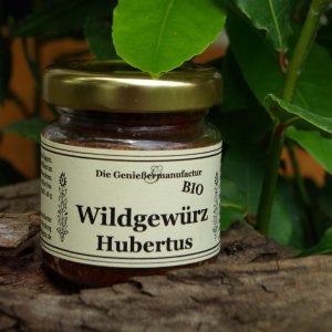 Wildgewürz Hubertus Bio im Glas