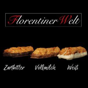 Florentiner Welt Zartbitter Vollmilch Weiß