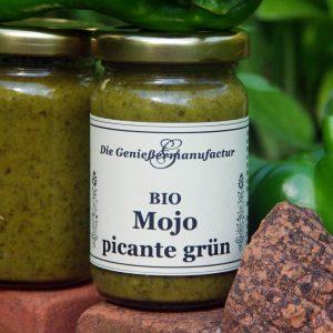 Mojo picante grün Bio im Glas