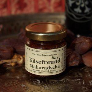 Käsefreund Maharadscha Sesam Dattel Paste Bio im Glas