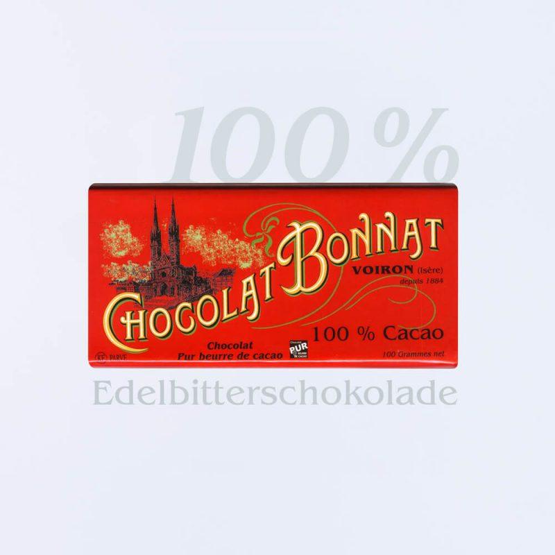Bonnat Edelbitterschokolade 100 %