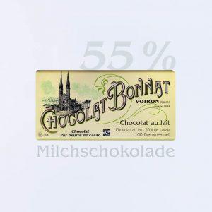 Bonnat Milchschokolade 55 %