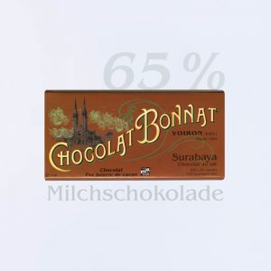 Bonnat Milchschokolade Surabaya 65 %