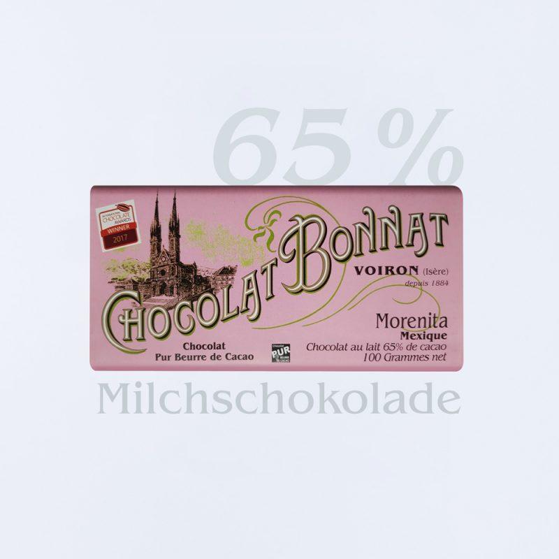 Bonnat Milchschokolade Morenita65 %