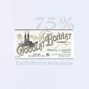 Bonnat Zartbitterschokolade Puerto Cabello 75 %