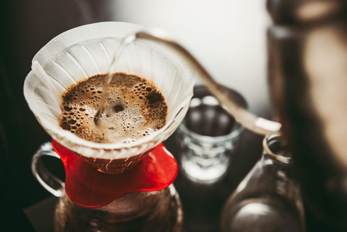 Die Kaffeezubereitung im Handfilter