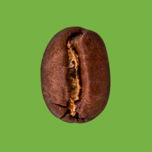 Nahaufnahme Espressobohne Bio