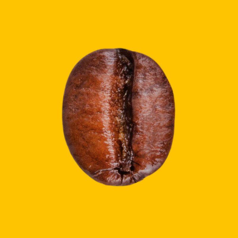 Nahaufnahme Kaffeebohne Coffee Vanilla Aromatisierte Spezialität